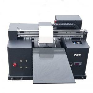 2017 goedkope A4-formaat desktop tablet uv led flatbed digitale printer WER-E1080UV