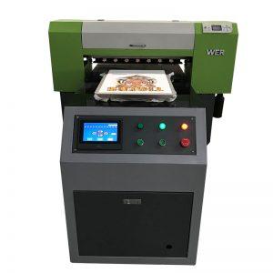 2018 nieuw product Inkjet a1 6090 uv flatbed printer met kleuren