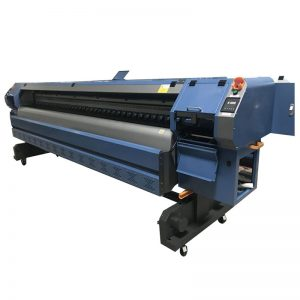 3,2 m Konica 512i printkop digitale vinyl flex banner solventprinter / plotter / drukmachine WER-K3204I