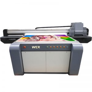 3D-effect UV flatbed printer, keramiek printer, tegels drukmachine in China WER-EF1310UV