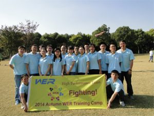 Activiteiten in Gucun Park, herfst 2014