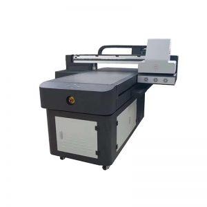 CE goedgekeurde fabriek goedkope prijs digitale t-shirt printer, UV digitale drukmachine voor t-shirt afdrukken WER-ED6090UV