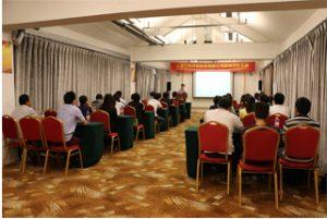 Groepsbijeenkomst in Wanxuan Garden Hotel, 2015