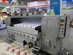 Lederen drukmachine