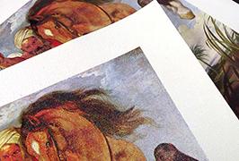 Olie Canvas gedrukt door eco-solvent printer WER-ES2501 van 2,5 meter (8 voet)
