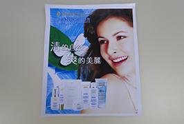 PVC-banner gedrukt door Eco-solventprinter WER-ES3201 van 3,2 m (10 voet)