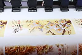 Zelfklevende vinyl geprikkeld met 1,8 m (6 voet) eco-solventprinter WER-ES1802
