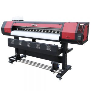 Goedkope 3.2m / 10feet digitale vinylprinter, 1440 dpi eco solvent inkjet printer-WER-ES1602 Printer