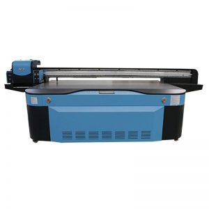 full colour CMYK LCLM witte vernis UV flatbed printer 3D WER-G2513UV