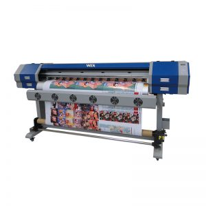 digitale textielprinter e jet v22 v25 sublimatie machine met dx5 of E5113 printkop WER-EW160