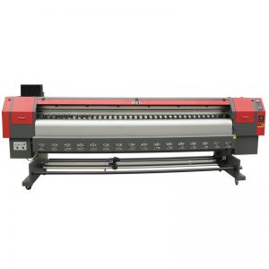 eco solvent printer dx7 head 3.2m digitale flexbannerprinter, vinylprinter WER-ES3202
