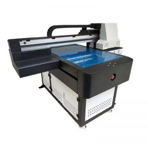 hoge snelheid UV flatbed printer met led-uv-lamp 6090 printformaat WER-ED6090UV